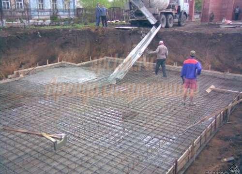Доставка товарного бетона