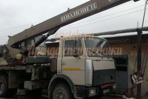 Автокран 20 тонн 22 метров
